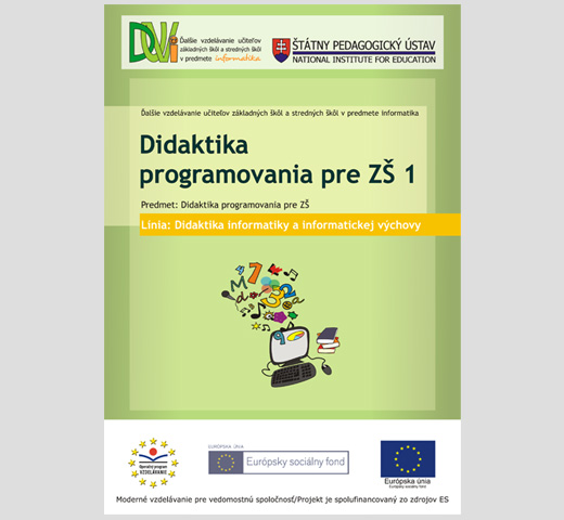 Didactics of programming for elementary schools 1